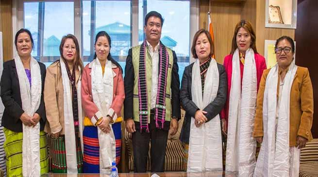 Itanagar: APSCW members calls on CM