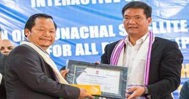 Arunachal CM interact with Civil Secretariat employees