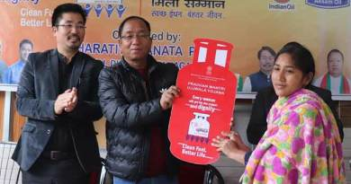 Itanagar: Free Cooking gas connection distributed to BPL women
