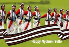 Arunachal CM greets people on Nyokum Yullo