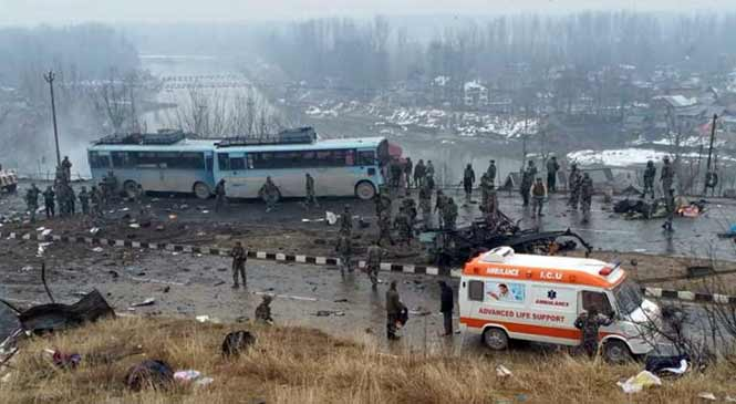 Kashmir  terror attack : 18 CRPF Jawan killed- LIVE UPDATE