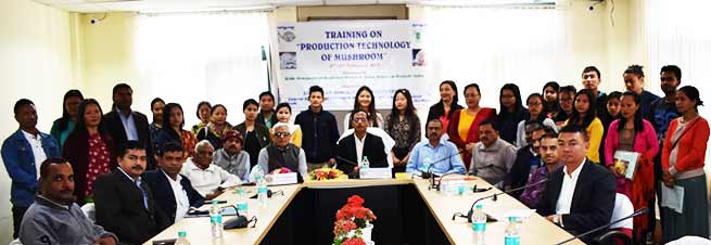 Arunachal: Training on Production Technology of Mushroom begins