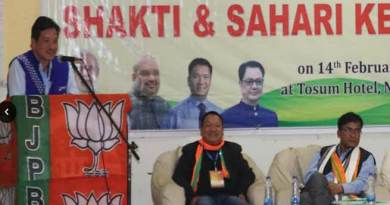 Arunachal: progress and development of party depend upon the karyakartas- Dr. Tangor Tapak
