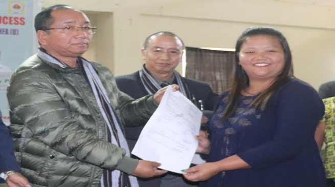 Arunachal: Techi Kaso exhorted PMAY beneficiaries