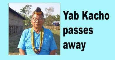 Arunachal:Social worker and GB Yab Kacho passes away