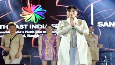 Photo of Arunachal Mountaineer Anshu promotes North East India Tourism in Thailand