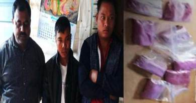 Arunachal: 3 arrested with contraband drugs at Dirak gate