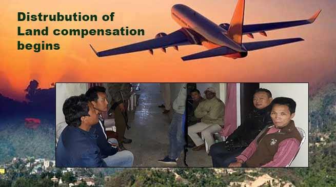 Itanagar: Land compensation for Hollongi Airport begins