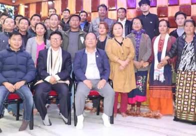 Itanagar: Likha Maj extends support to Taba Tedir candidature from Yachuli