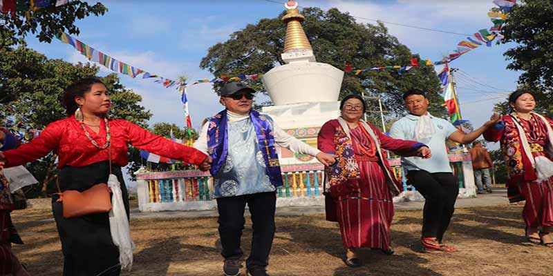 Arunachal: Rebia takes part in Losar festival