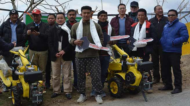 Arunachal: 25 SAD of Tawang reaches Khirmu village