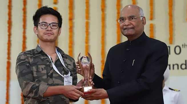 Arunachal:Tadar Anang received National Grassroots innovator award