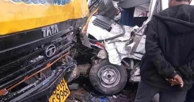 Arunachal: Nine injured after TATA Winger-Truck collision