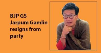Arunachal: BJP GS Jarpum Gamlin resigns from party