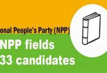 Photo of Arunachal Elections: NPP fields 33 candidates for simultaneous poll in state