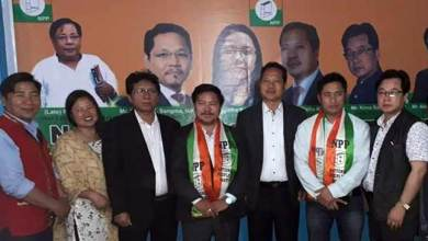 Photo of Arunachal: Pani Taram, Paknga Wage and Thangwang Wangham join NPP