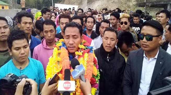 Arunachal polls:Taba Thomas resigns from INC, gets ticket from JDS