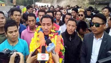 Photo of Arunachal polls:Taba Thomas resigns from INC, gets ticket from JDS