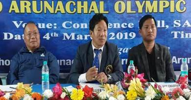 Arunachal: work for promotion of games and sports- Bamang Tago