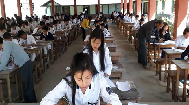 Arunachal:  CBSE examination underway smoothly- Gania Leij