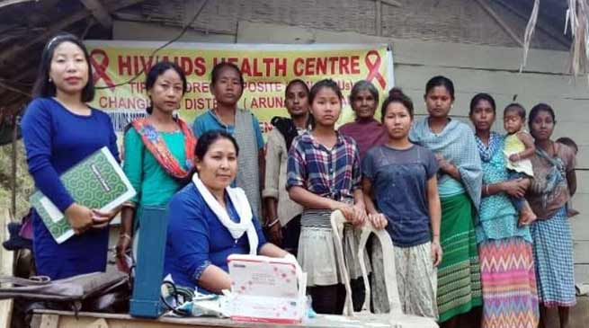 Arunachal: RKMMS organised free community based HIV/AIDS screening test