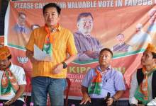 Itanagar: Kipa Babu launches poll campaign