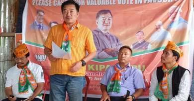 Itanagar: Kipa Babu launches poll campaign