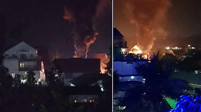 Arunachal: Mob attacks Likha Saaya's residence and set on fire