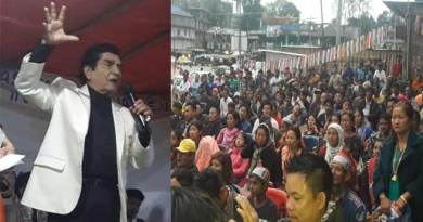 Bollywood artist Asrani appeal people to support congress for development of Arunachal