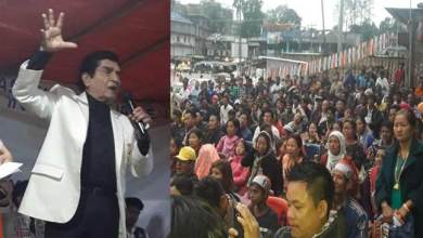 Photo of Bollywood artist Asrani appeal people to support congress for development of Arunachal