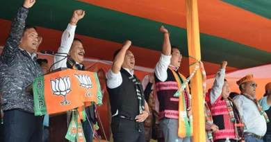 Arunachal polls: Pema Khandu Addresses Election Rally in Tezu