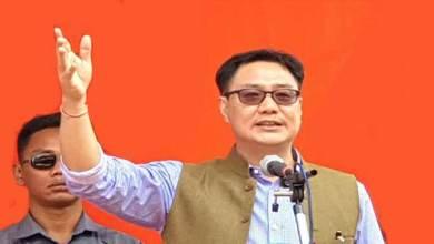 Photo of Arunachal Elections: Recent PRC fiasco was handiwork of opposition- Kiren Rijiju