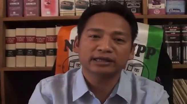 Arunachal polls: Corruption is the root cause of lake of development in state- Techi Tolu Tara