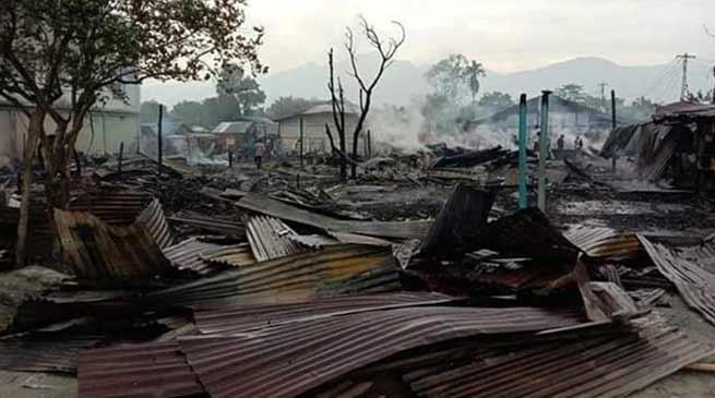 Arunachal: 19 shops gutted in Tezu Fire