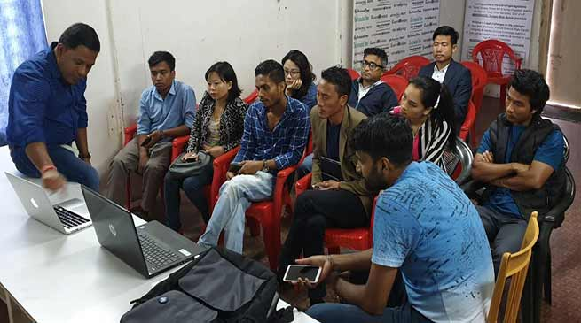 Itanagar: Workshop on election counting and updating held for journalist