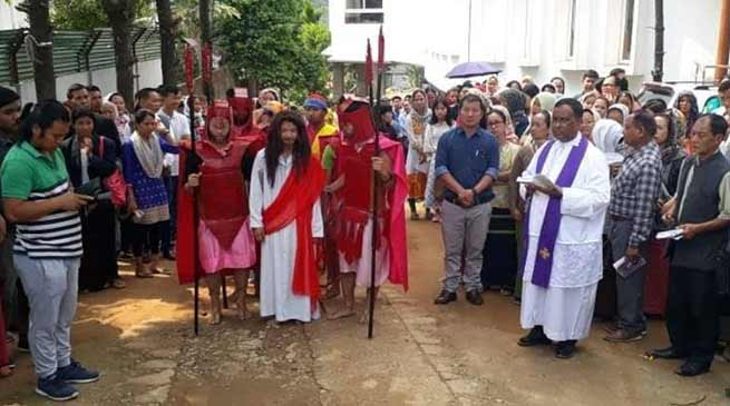 Itanagar:Good Friday celebrated across the state