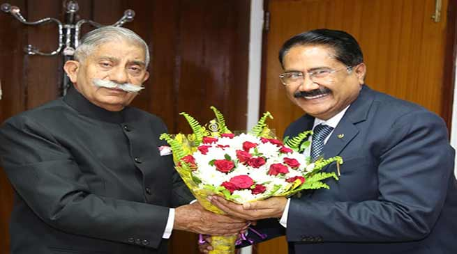 Arunachal Governor congratulates Rajiv Gandhi University