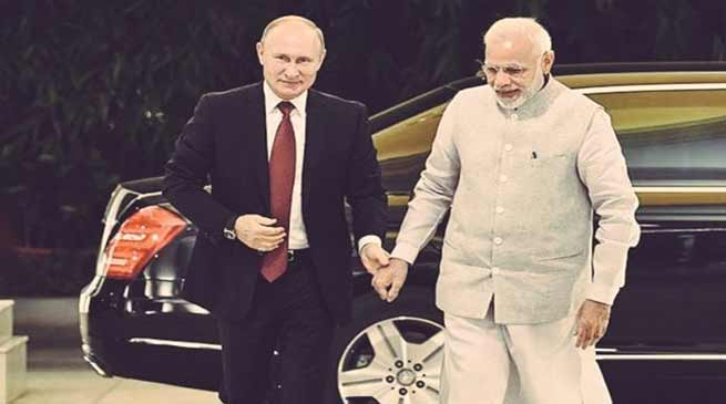 PM Modi conferred with Russia's highest state honour, Order of St Andrew