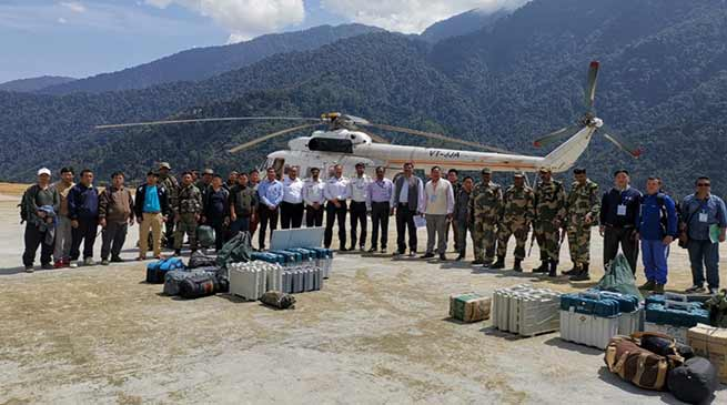 Arunachal:  Polling teams airlifted, another team on foot march