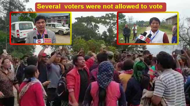 Arunachal Re-Poll: Controversy arises again in Rakso polling station