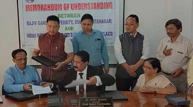 Arunachal: RGU inks MoU with IILDS on comprehensive HBV care