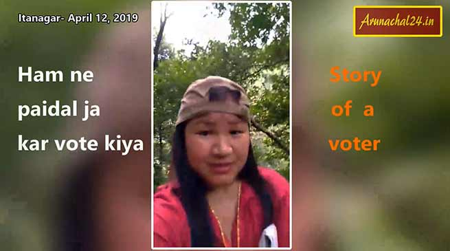 Difficulties in polling and voting in Arunachal Pradesh- captured in photos and videos