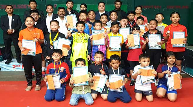 Itanagar: 1st Sub-junior state ranking tournament concludes