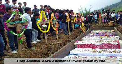 Tirap Ambush- AAPSU demands investigation by NIA