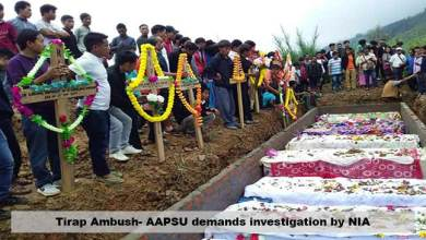 Photo of Tirap Ambush- AAPSU demands investigation by NIA
