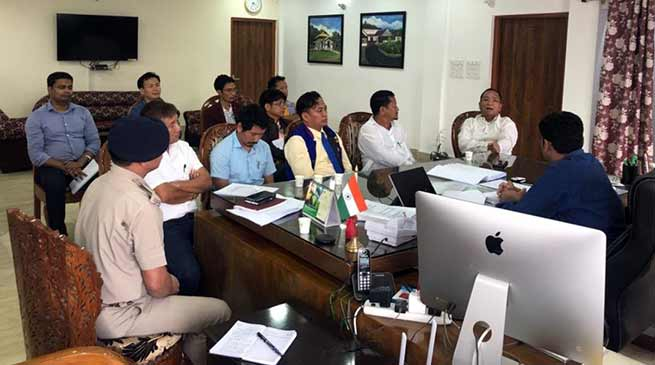 Itanagar: DC convenes meeting with Contesting candidates and election agents for peaceful counting