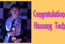 Photo of Hassang Techi bags the title of Mr Arunchal Pradesh International 2019