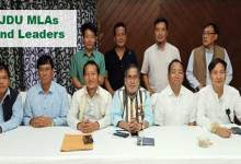 Itanagar: Techi Kaso elected as leader of JDU's legislature Party