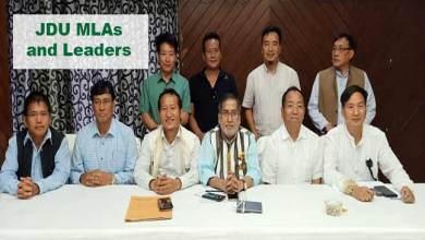 Photo of Itanagar: Techi Kaso elected as leader of JDU's legislature Party