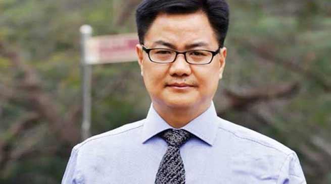 Kiren Rijiju gets berth in Narendra Modi's cabinet